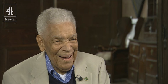 video  channel 4 interviews actor earl cameron
