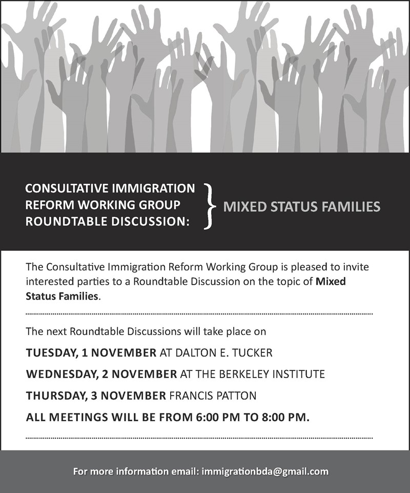31OCT16 Roundtable Mixed Status Families