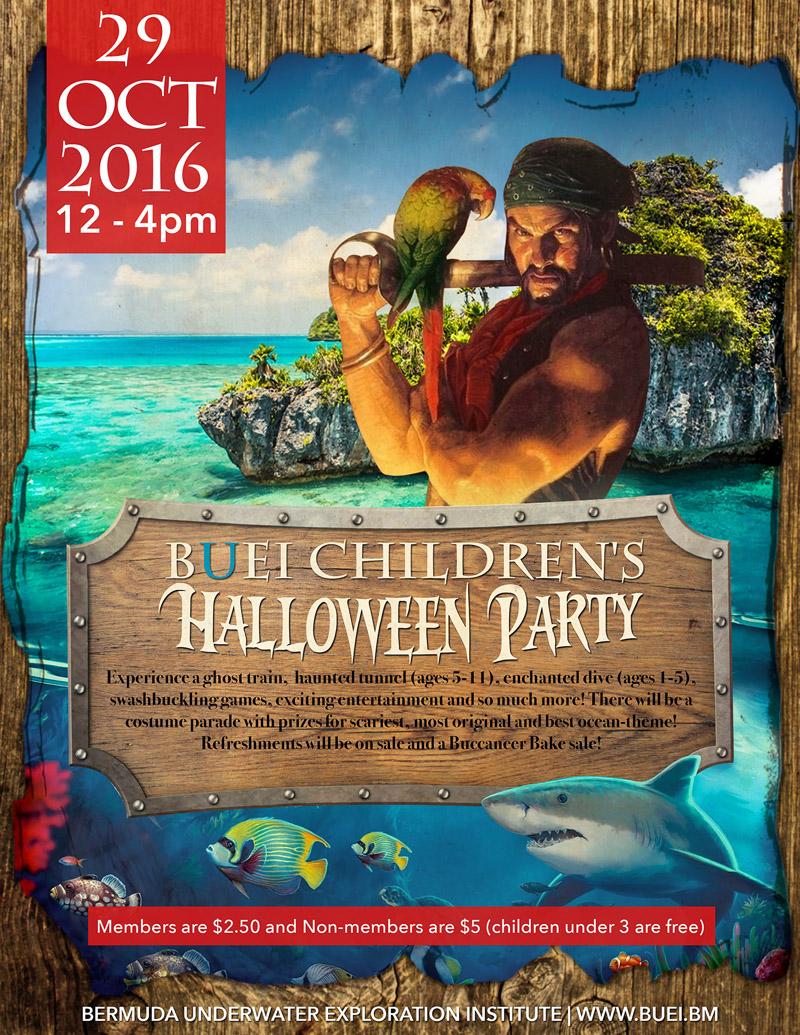 BUEI Childrens Halloween Party Bermuda October 2016