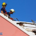 Bermuda Fire & Rescue Service Bethel AME Roof, October 15 2016-12