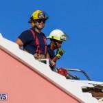 Bermuda Fire & Rescue Service Bethel AME Roof, October 15 2016-13