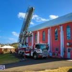 Bermuda Fire & Rescue Service Bethel AME Roof, October 15 2016-2