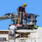 Bermuda Fire & Rescue Service Bethel AME Roof, October 15 2016-28