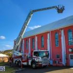 Bermuda Fire & Rescue Service Bethel AME Roof, October 15 2016-3