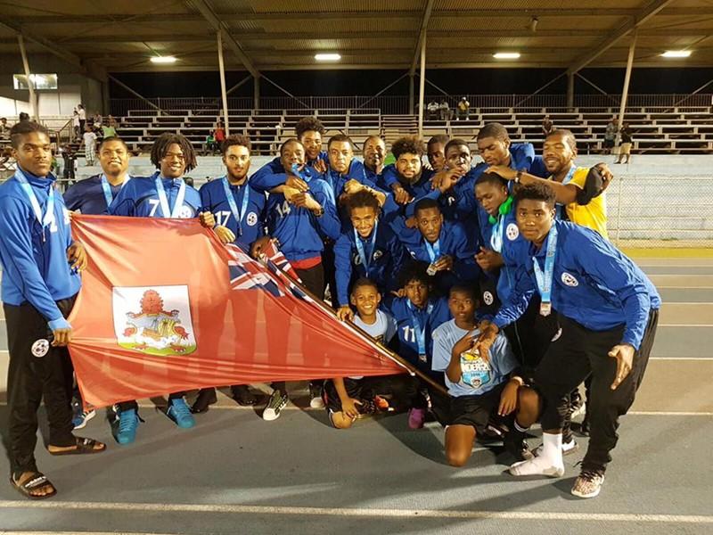 Bermuda U20 TEAM 3rd Place Finish