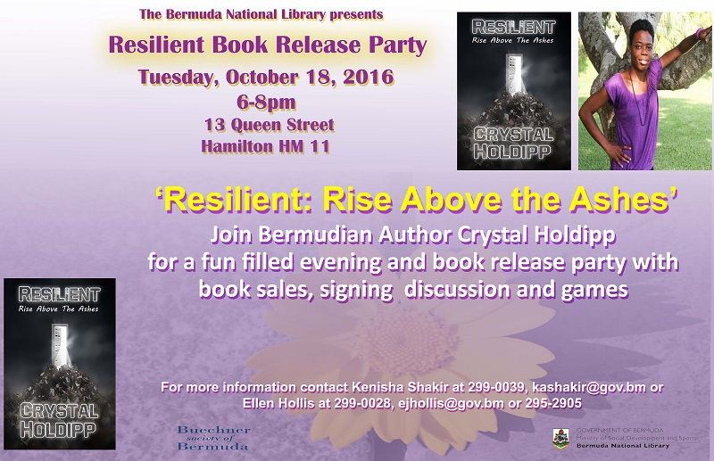 Crystal Holipp Resilient Book Release Party