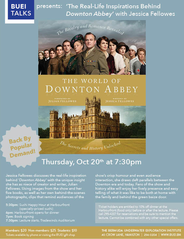 Downton Abbey Bermuda October 2016