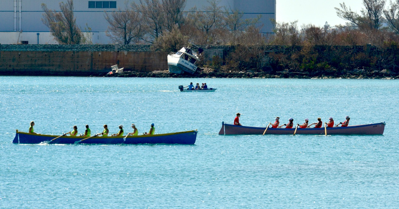 Gig rowing St Georges Bermuda Oct 16 Scott Stallard (3)