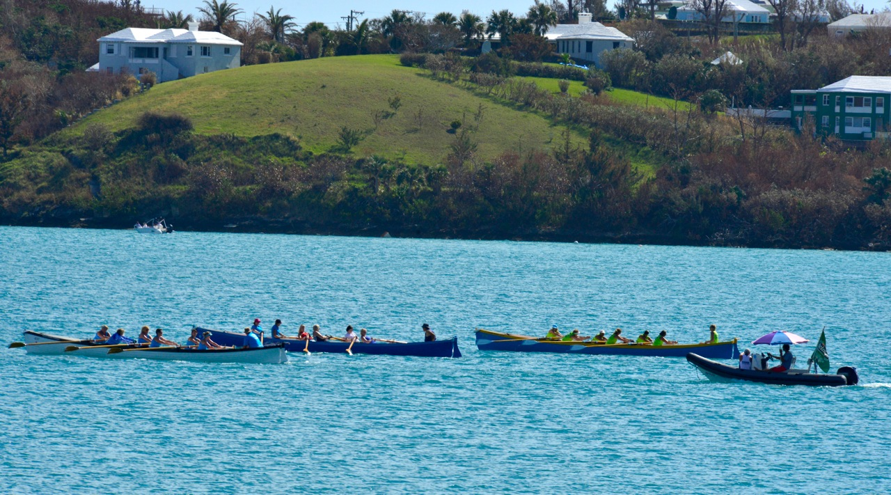 Gig rowing St Georges Bermuda Oct 16 Scott Stallard (5)