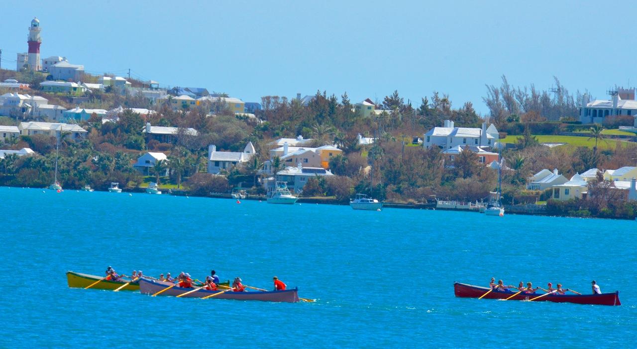 Gig rowing St Georges Bermuda Oct 16 Scott Stallard (6)