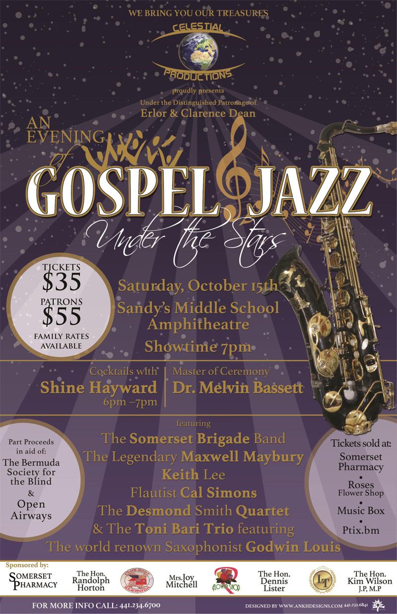 Gospel and Jazz Bermuda October 2016