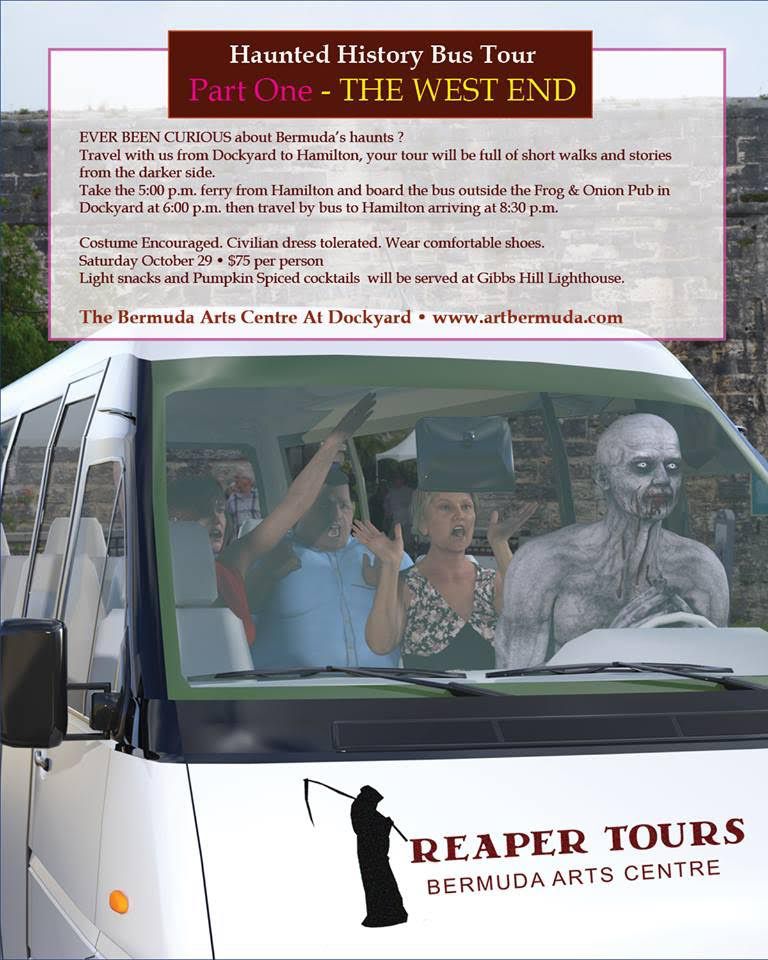 Haunted History Tour Bermuda October 2016