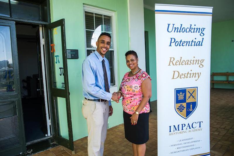 Impact Mentoring Donation Bermuda October 2016