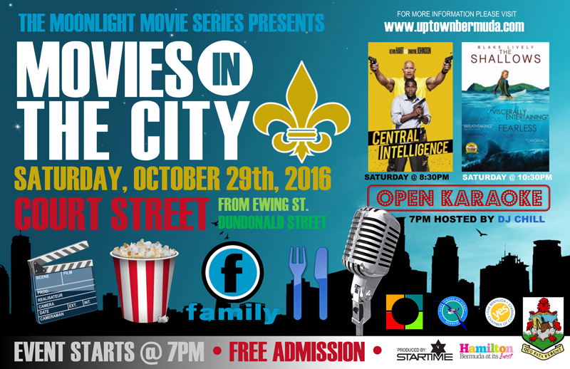 Movies in the City Bermuda October 2016