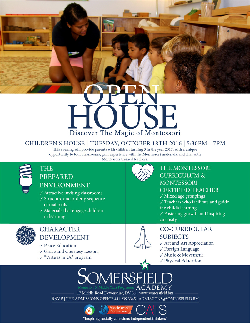 Open House CH October 2016