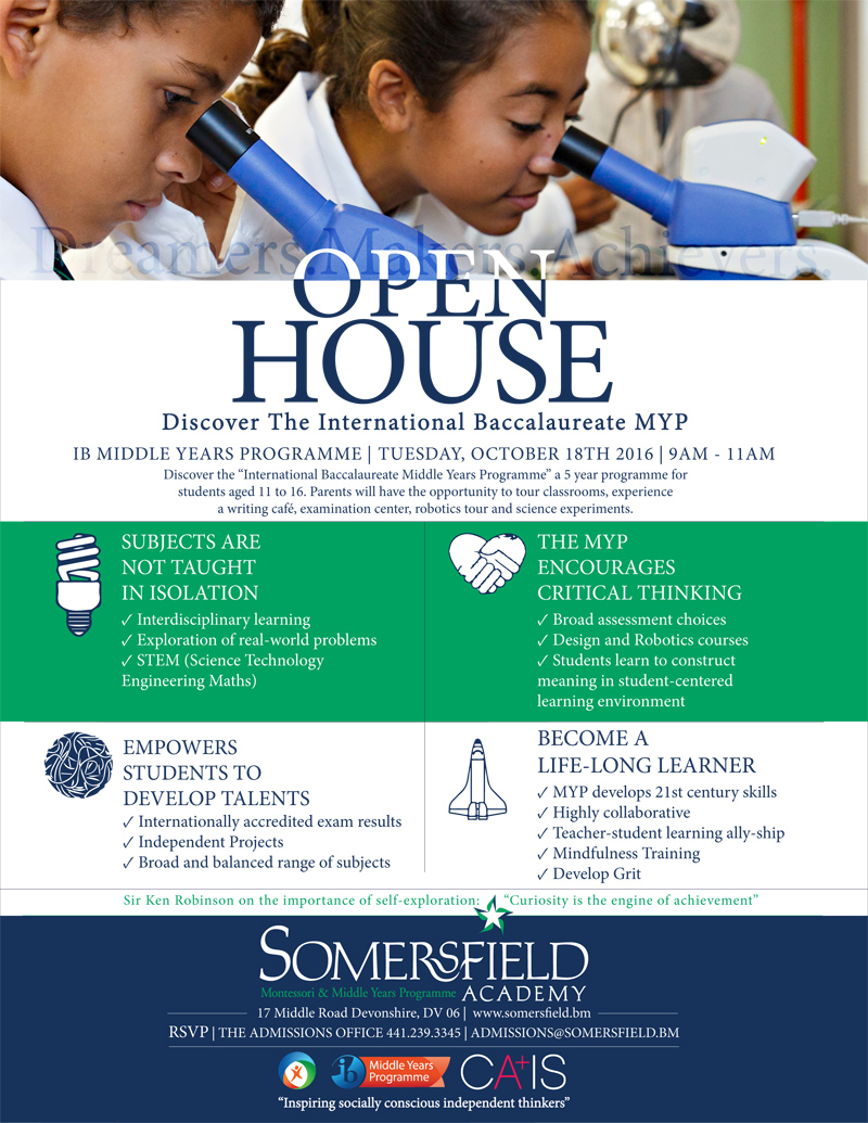 Open House MYP October 2016