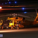 US Coast Guard MH60 Helicopter & C-130 Bermuda, October 17 2016-2