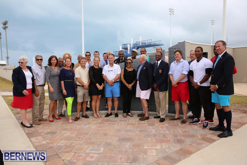 Unveiling-Of-Olympic-Wall-Bermuda-October-2016-5