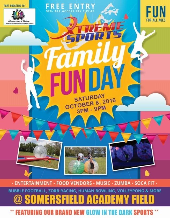 XS Family Fun Day Bermuda October 5 2016
