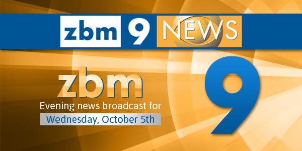 zbm 9 news Bermuda October 5 2016