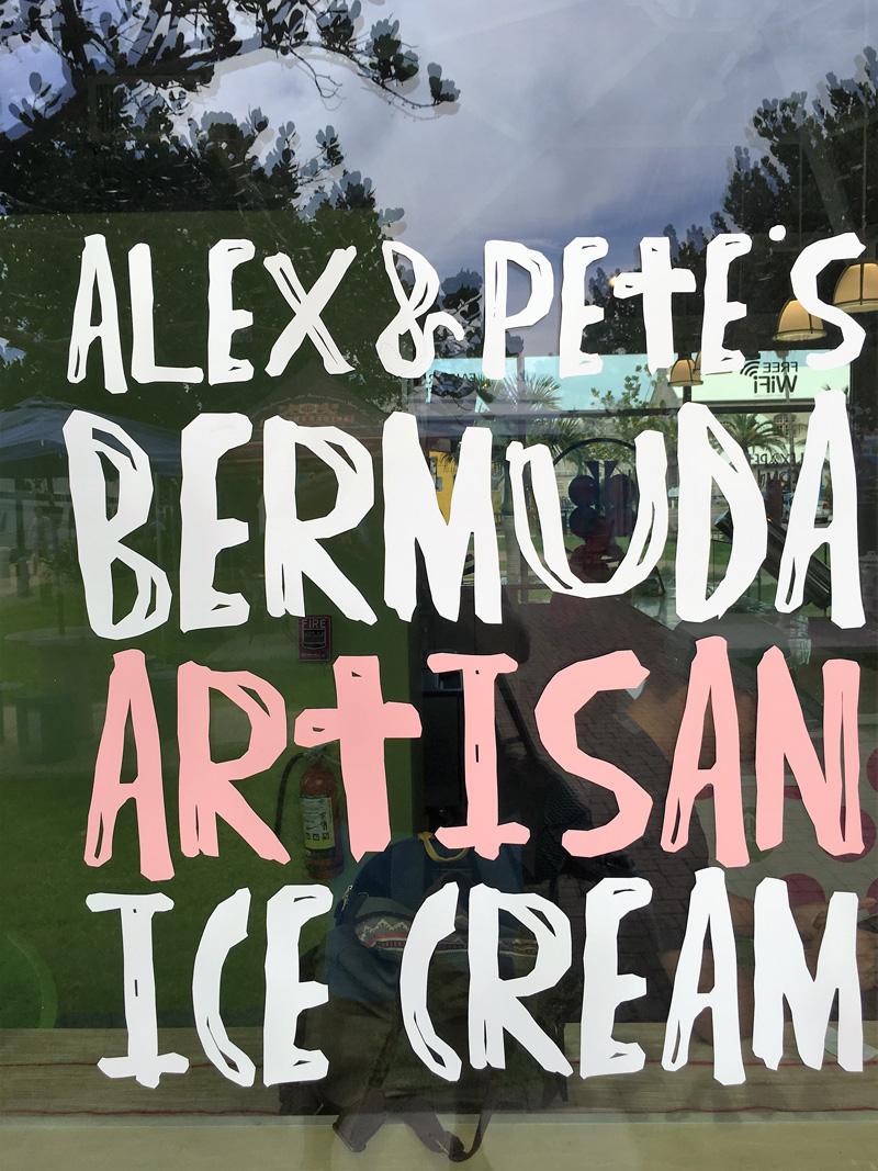 Alex and Pete Artisan Ice Cream Bermuda Nov 8 2016 (2)