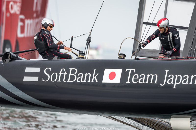 Racing Day 1 of Louis Vuitton America's Cup World Series Fukuoka