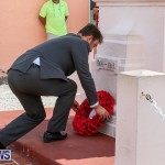Bermuda Remembrance Day Ceremony, November 13 2016-17