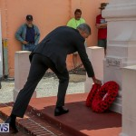 Bermuda Remembrance Day Ceremony, November 13 2016-21