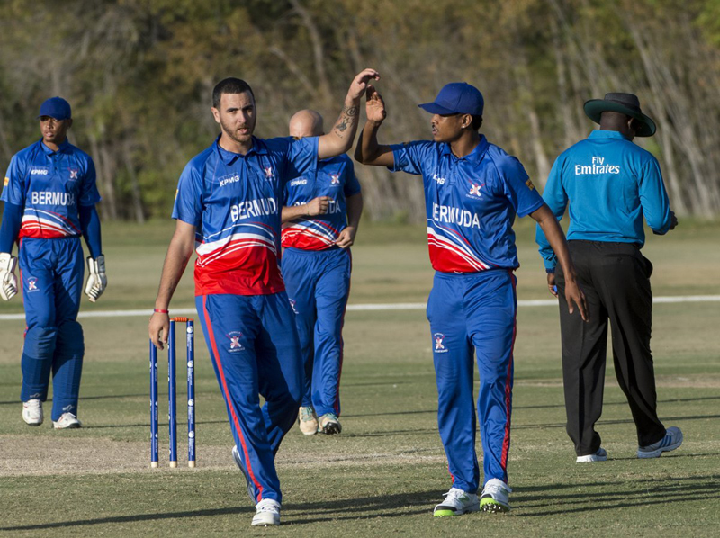 Bermuda win over Denmark November 2016