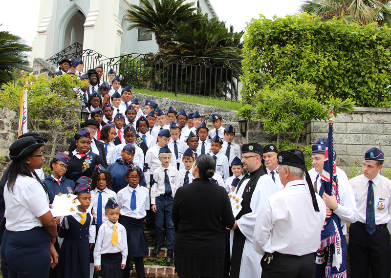 Boys' Brigade and Church Girls' Brigade Bermuda Nov 30 2016