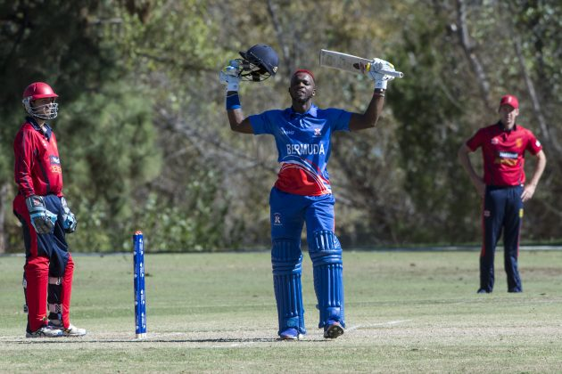 Cricket Bermuda November 2016