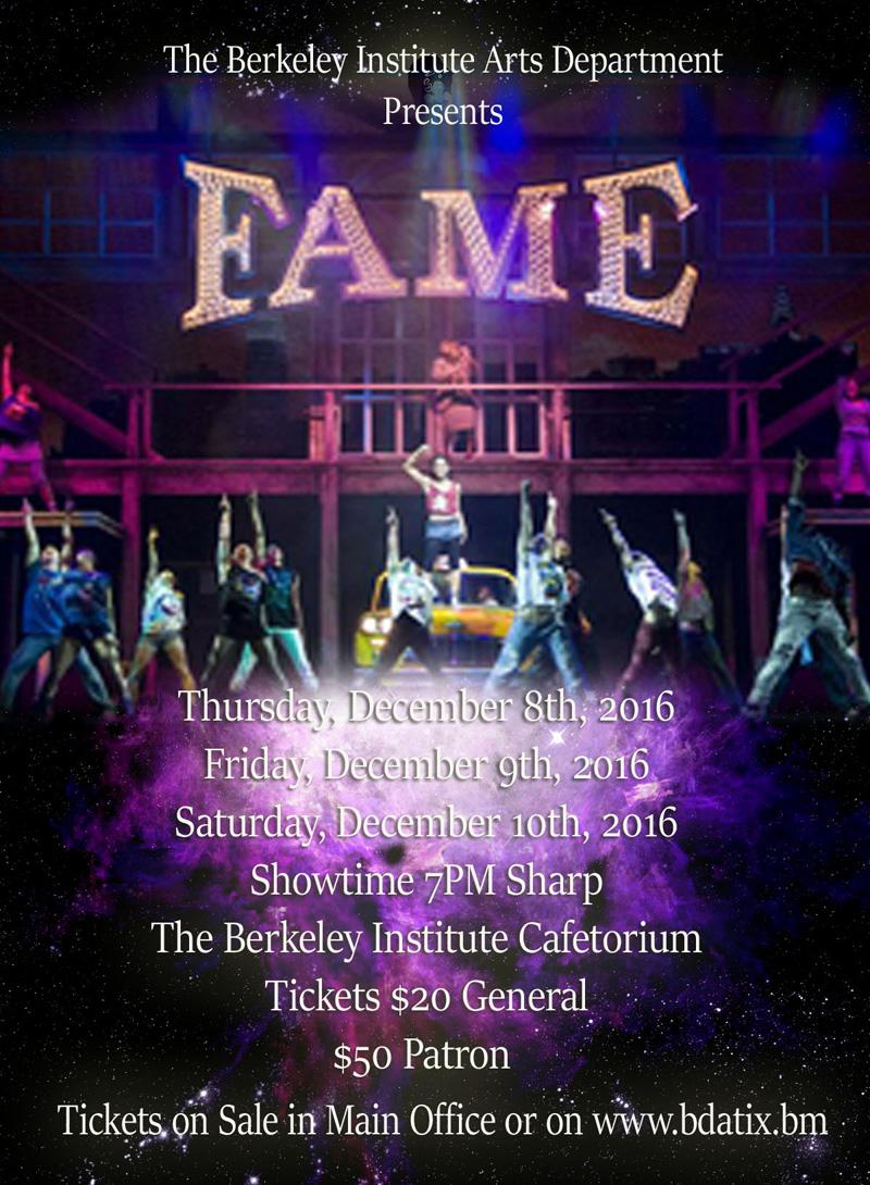 Fame Bermuda November 2016