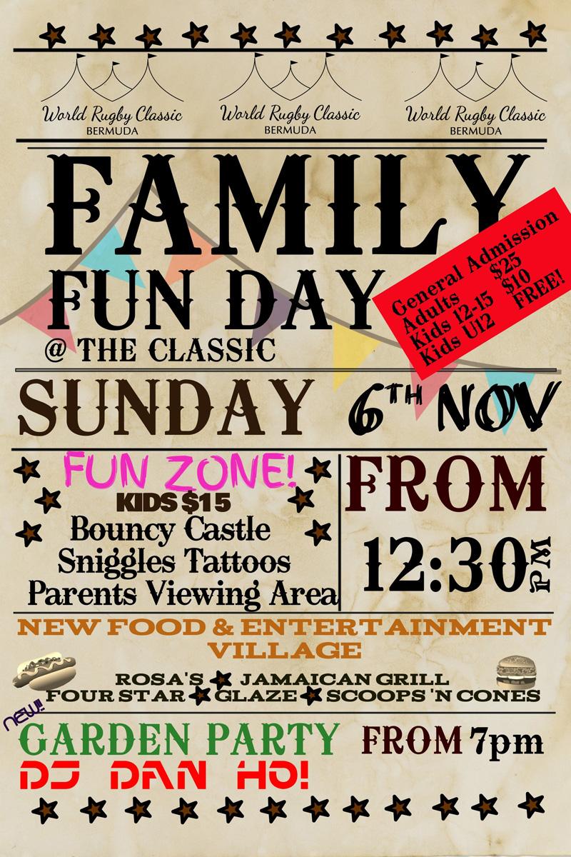 Family Fun Day Bermuda Nov 2016