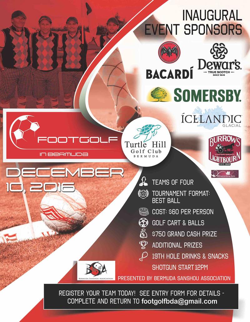 FootGolf Bermuda November 2016