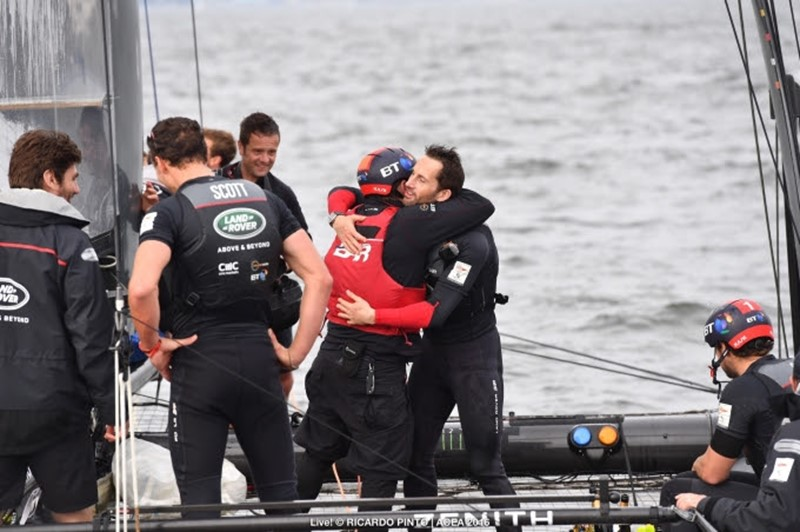 Land Rover BAR win Louis Vuitton America's Cup World Series