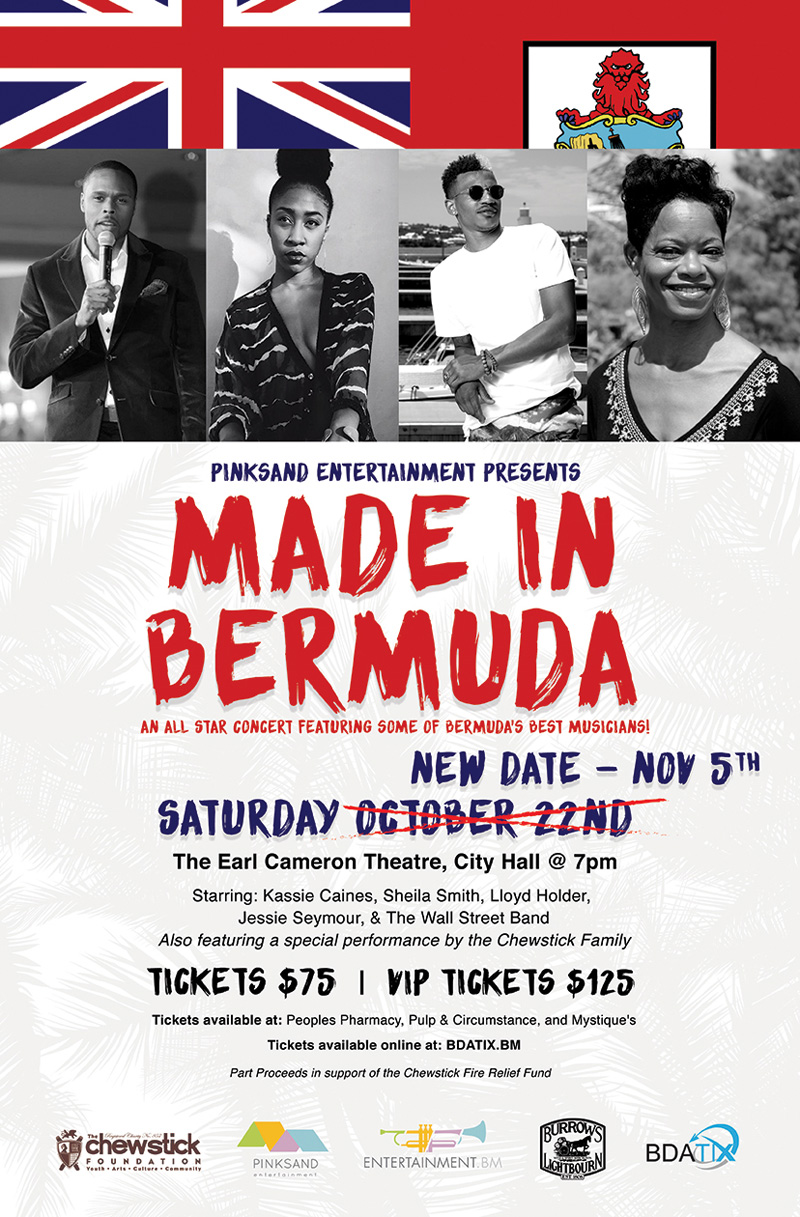 Made In Bermuda Concert Bermuda November 2016