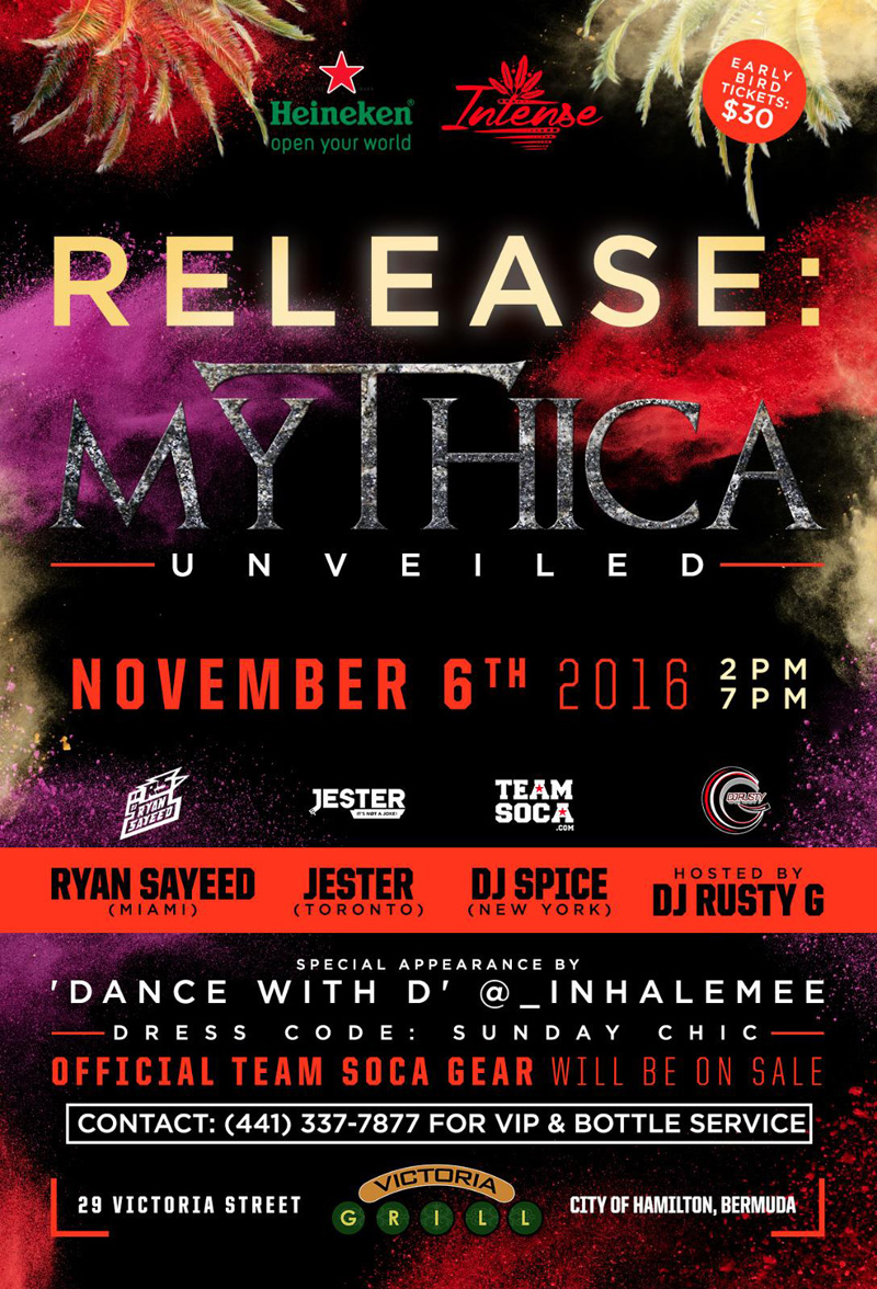 Mythica Bermuda November 2016