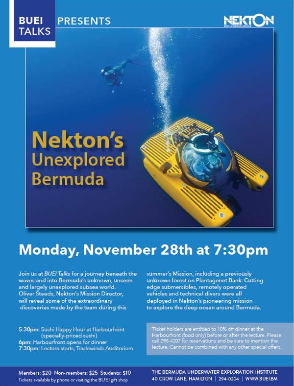 Nekton Bermuda Nov 2016