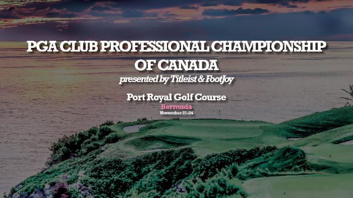 PGA Club Professional Championship Bermuda Nov 2016