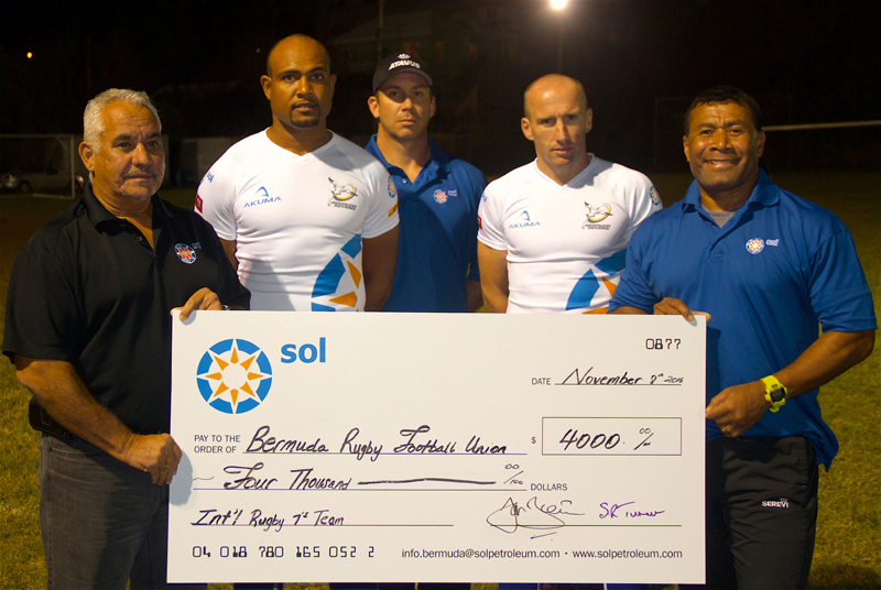 Rugby Bermuda Nov 10 2016
