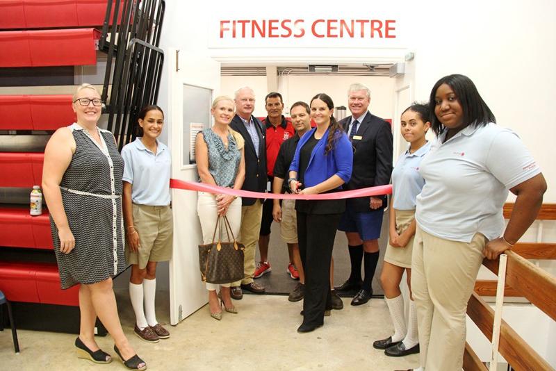 Saltus new gym Bermuda November 22 2016