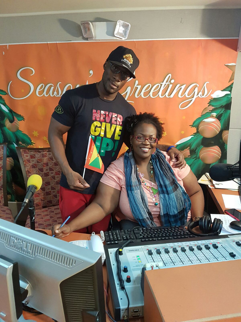 Visit to radio Bermuda Nov 25 2016