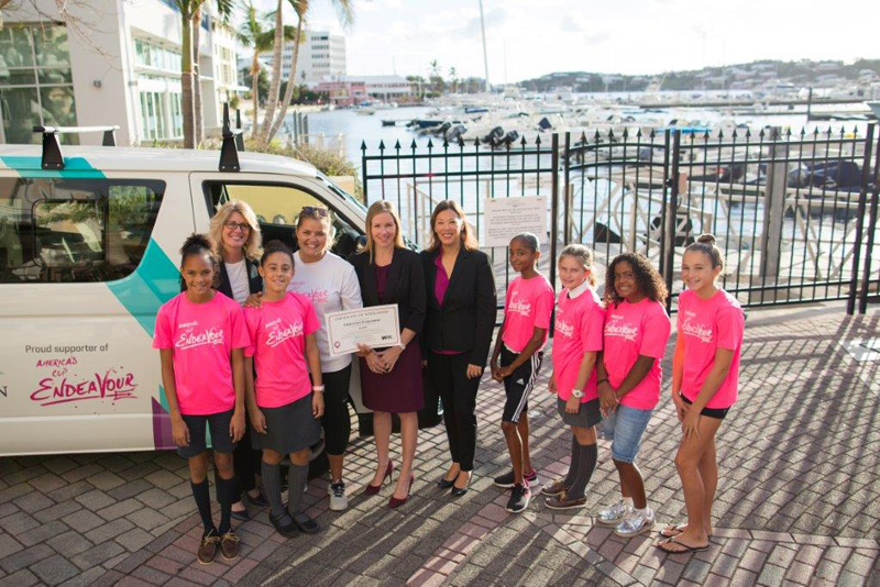 WiRe Supports Sailing Scholarship Bermuda Nov 30 2016