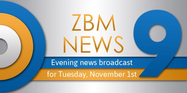 zbm 9 news Bermuda November 1 2016