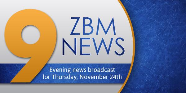 zbm 9 news Bermuda November 24 2016
