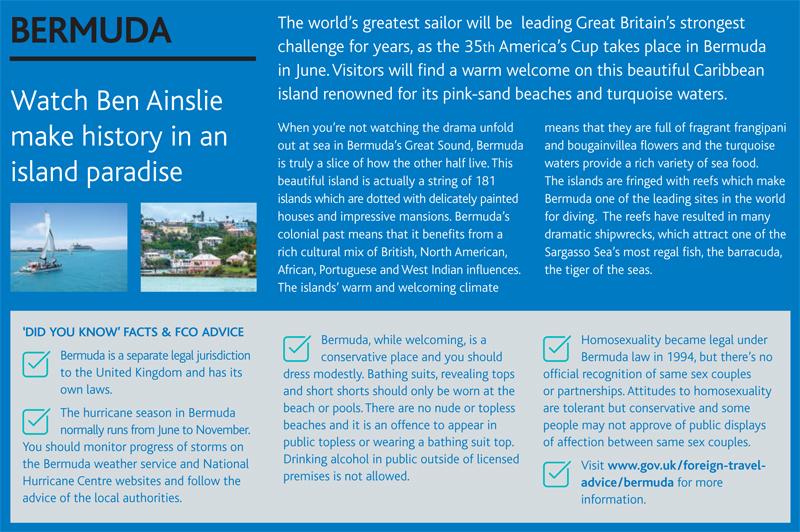 ABTA Travel Trends Report Bermuda December 2016