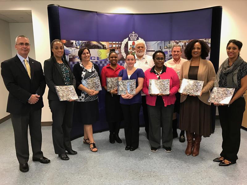 BPS Crime Stoppers Bermuda 20th Anniversary Book Presentation Dec 2016 (1)