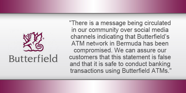 Bank Butterfield Bermuda TC December 30 2016