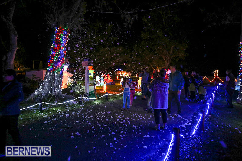 Photos Christmas Lights At Botanical Gardens Bernews
