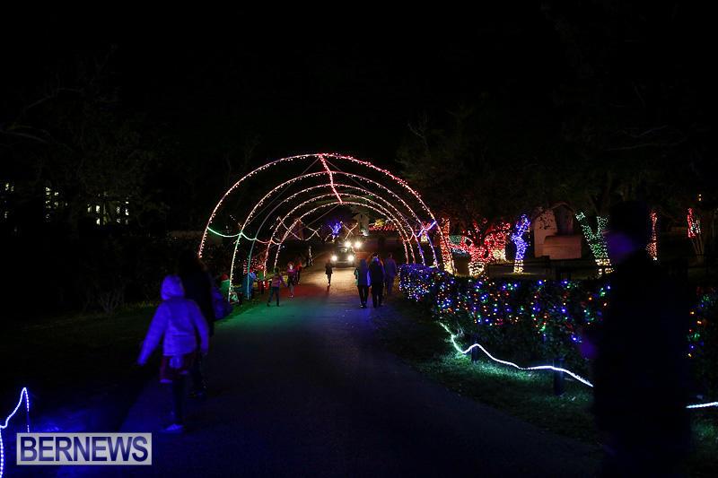 Photos Christmas Lights At Botanical Gardens Bernews Bernews
